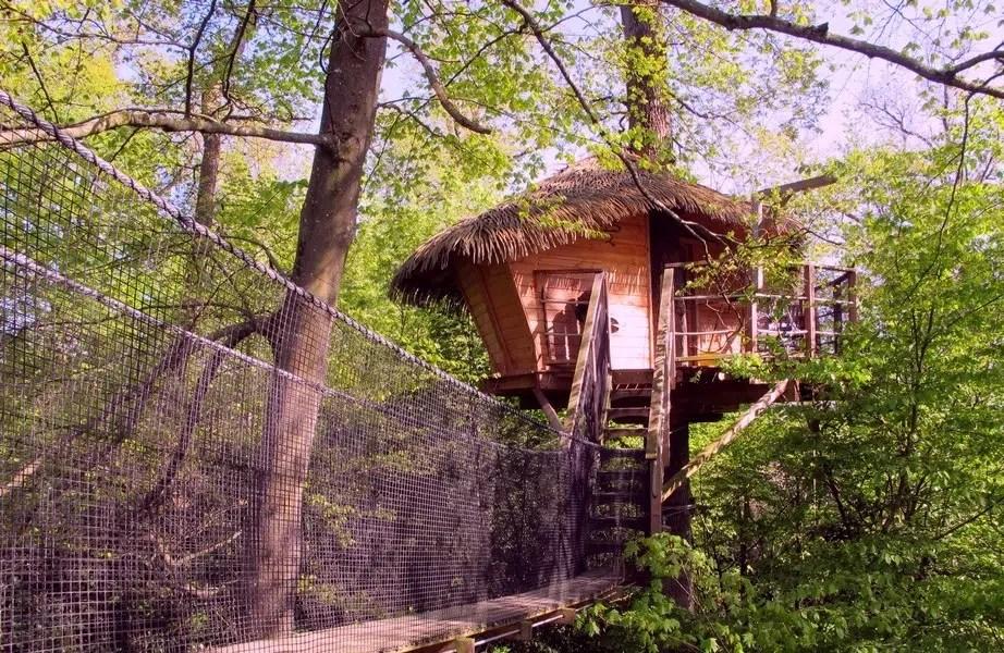 Cabane Zen Cabane Dans Les Arbres Insolite Pons