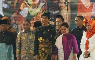 Presiden Sebut Sumut Sebagai Miniatur Indonesia