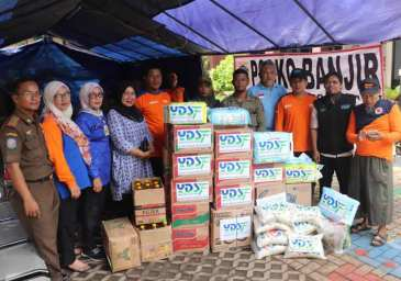 YDSF kirim Tim Unit Aksi Cepat ke Kawasan Banjir Jabodetabek