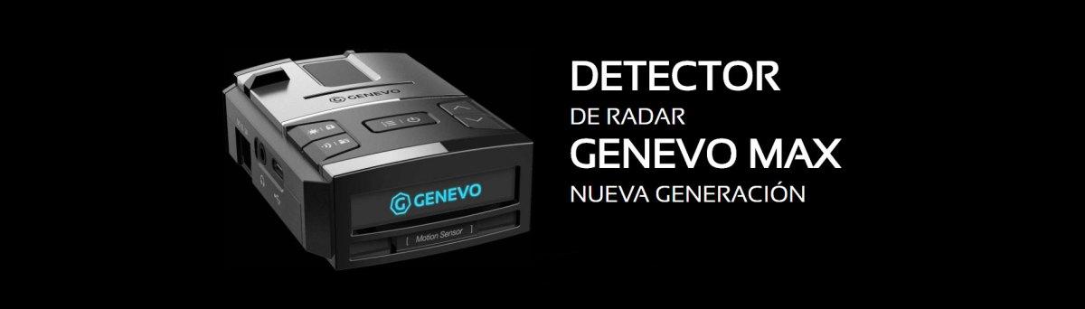 Genevo Max detector radar