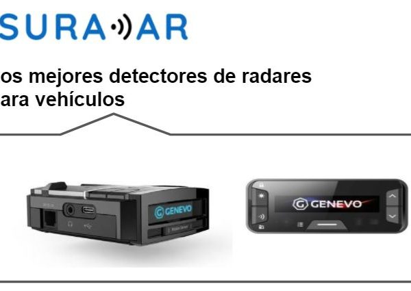 Los mejores detectores de radares