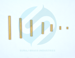 Brass threded tubs
