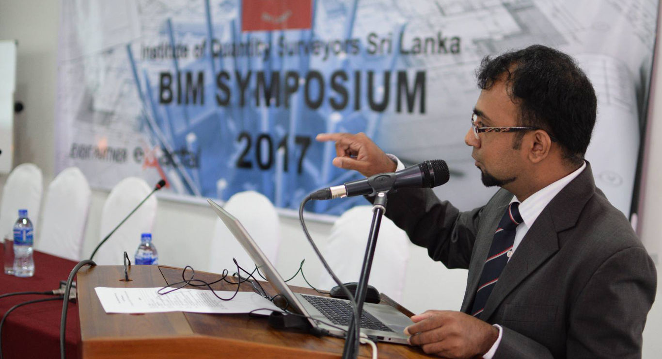 Suranga at BIM Symposium 2017