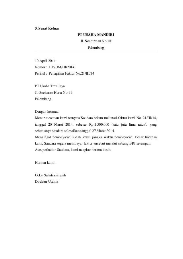 38+ Contoh surat bisnis masuk terbaru yang baik