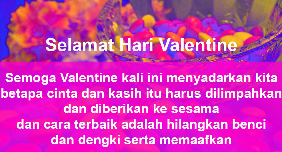 7. Contoh Surat Valentine Untuk Sahabat