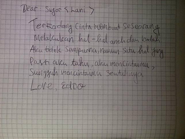 40++ Contoh surat cinta gokil terbaru yang baik
