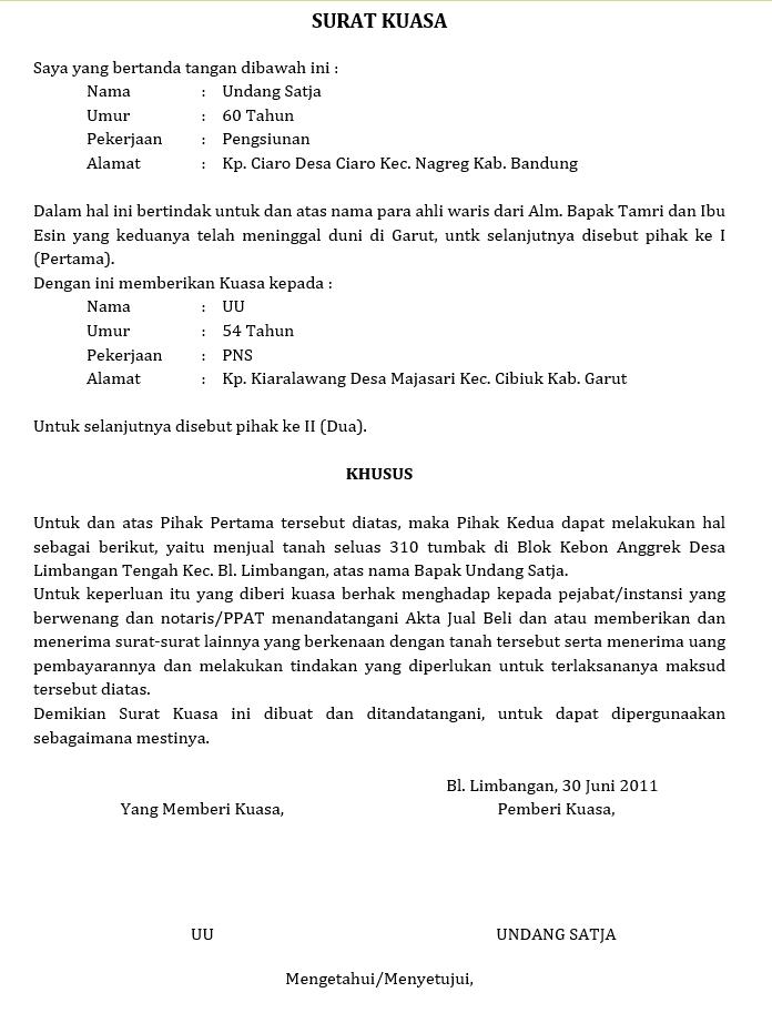 6. Surat Kuasa Untuk Pengambilan Ijazah Sertifikat Pelaut