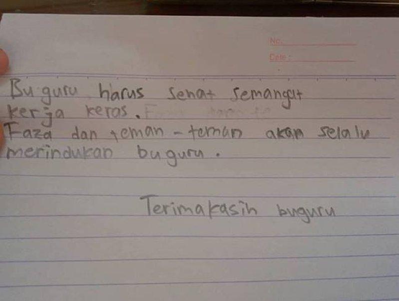 4. Sepucuk Surat Untuk Guru PPL