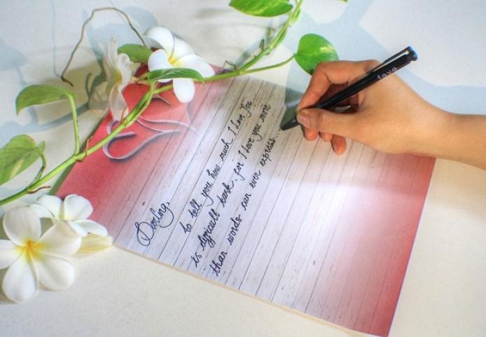 3. Contoh Surat Cinta Untuk Orang Yang Disukai