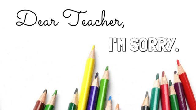 Contoh Surat Permohonan Maaf Kepada Guru
