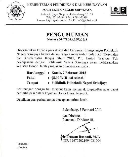 3. Contoh Surat Pemberitahuan Kegiatan Halal Bihalal