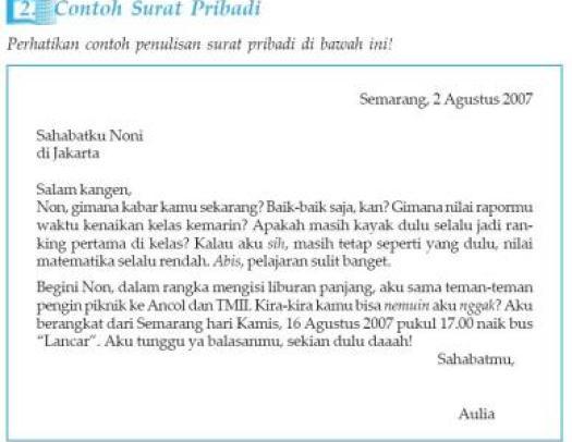 16. Contoh Surat Tidak Resmi Dalam Bahasa Bali