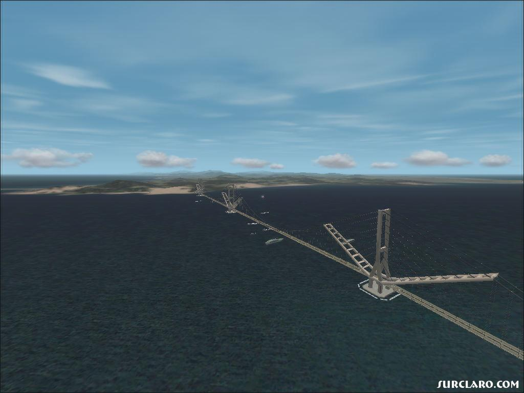Fs2002 Gibraltar Bridge 8871 Surclaro Photos