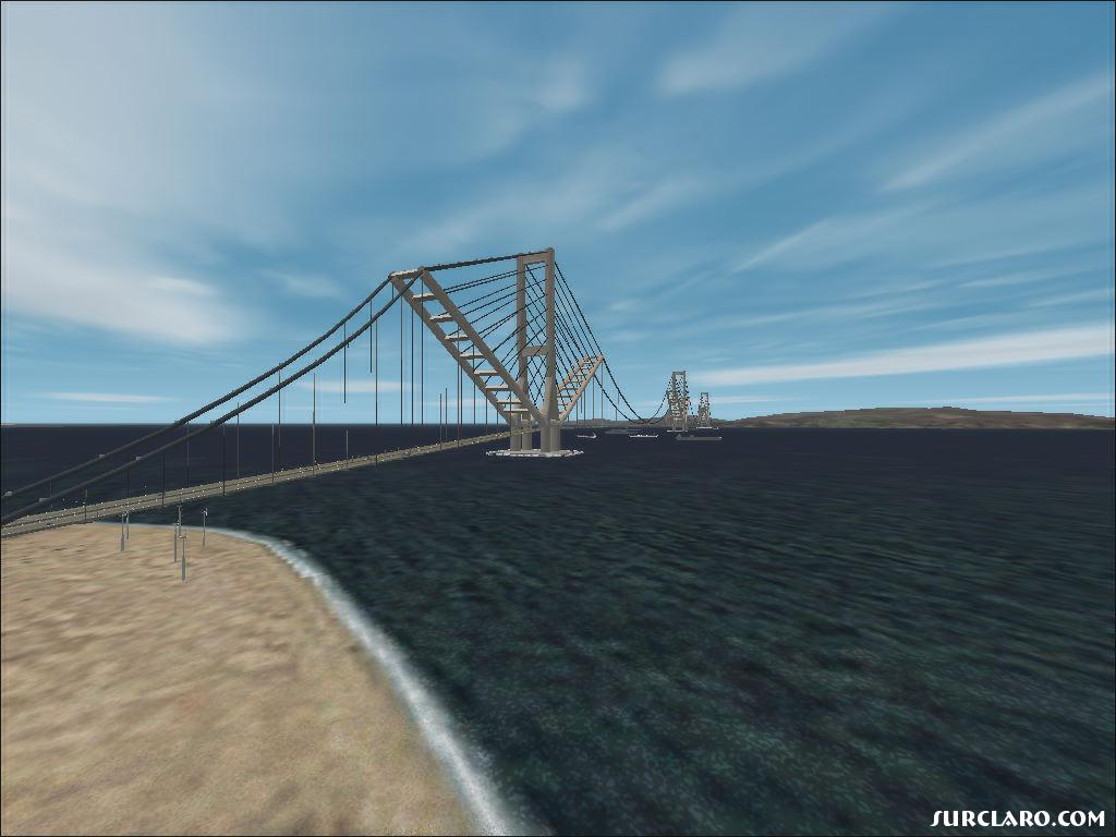 Fs2002 Gibraltar Bridge 8868 Surclaro Photos