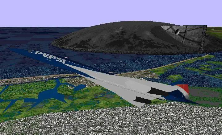 FS98 Air France BAE Aeropastiale Concorde 1080 SurClaro Photos