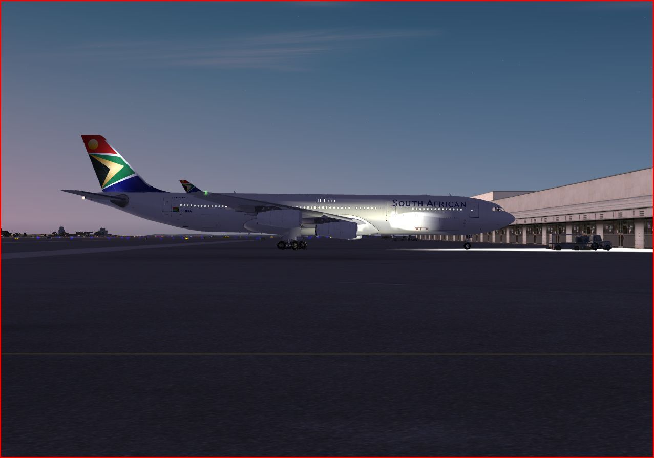 Flight Simulator X South African Airways At Jhb Intl 16943