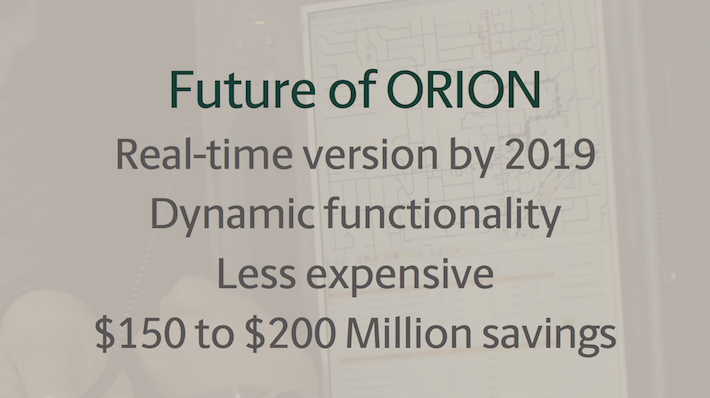 UPS Future of Orion