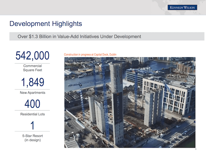 KW Development Highlights