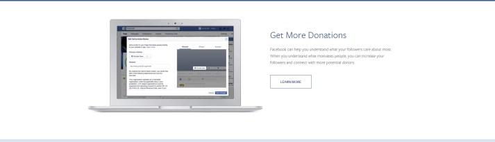 donaciones facebook