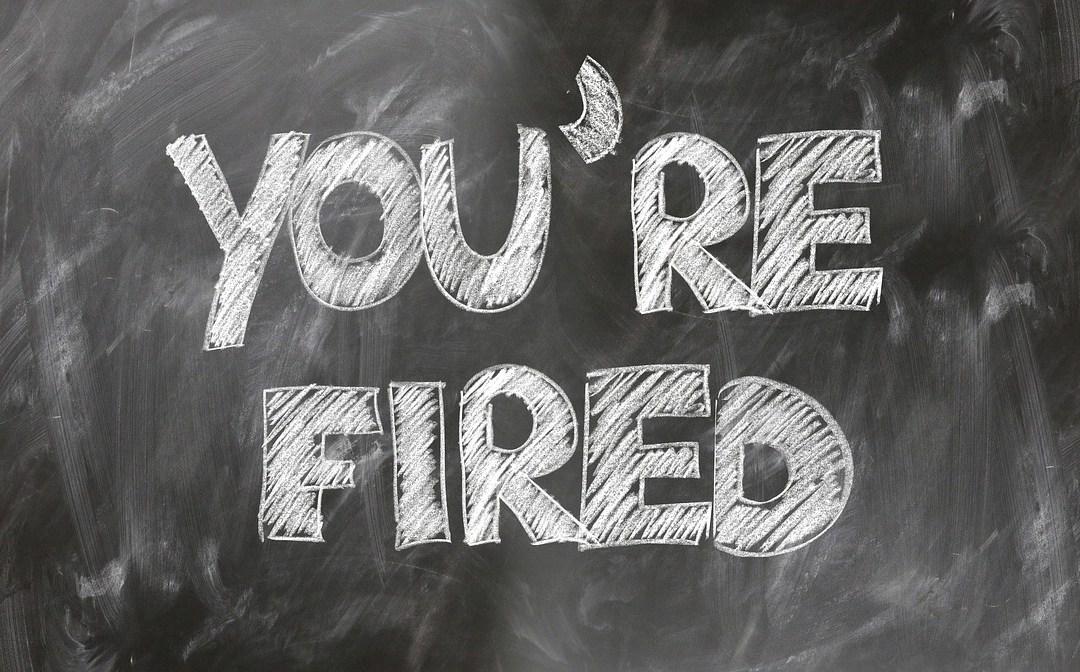 despedir a un empleado