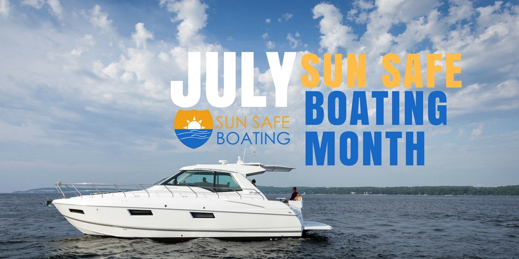 sun safe boating month