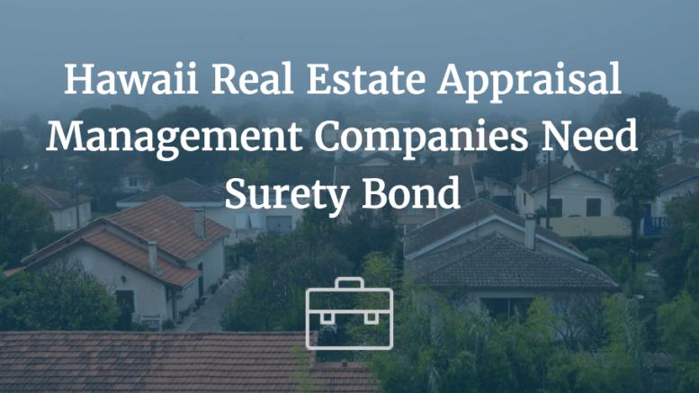 hawaii real estate appraisal