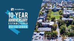 SuretyBonds.com Celebrates 10 Years in Business