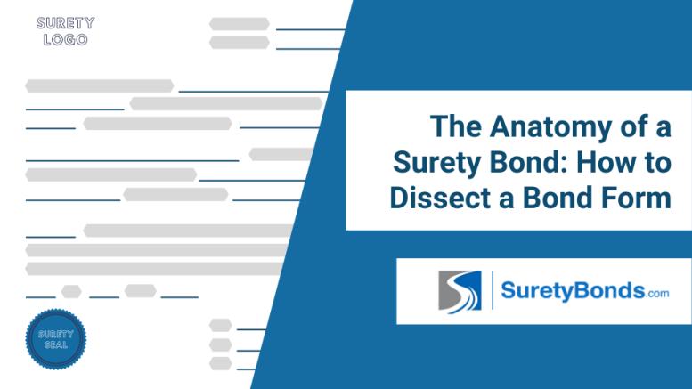The Anatomy of a Surety Bond
