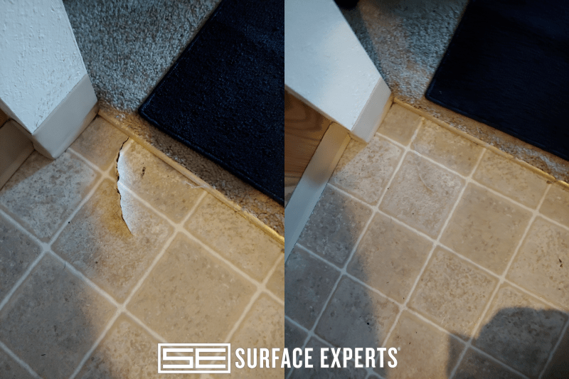 repair samples for surface experts of