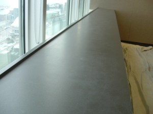 Commercial Countertop Scratch Watermist Refinish Surface Link Before