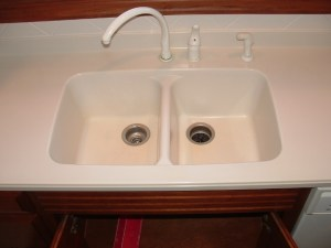 Solid Surface Sink Replacement