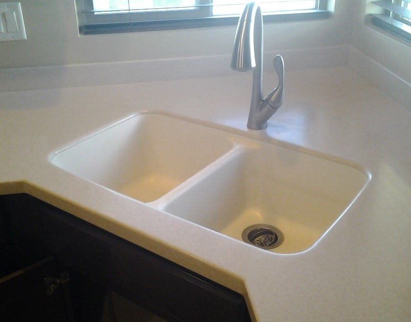 Captivating Drop In Sink, Granite, Granite Composite, Staron, Solid Surface, Sink  Replacement