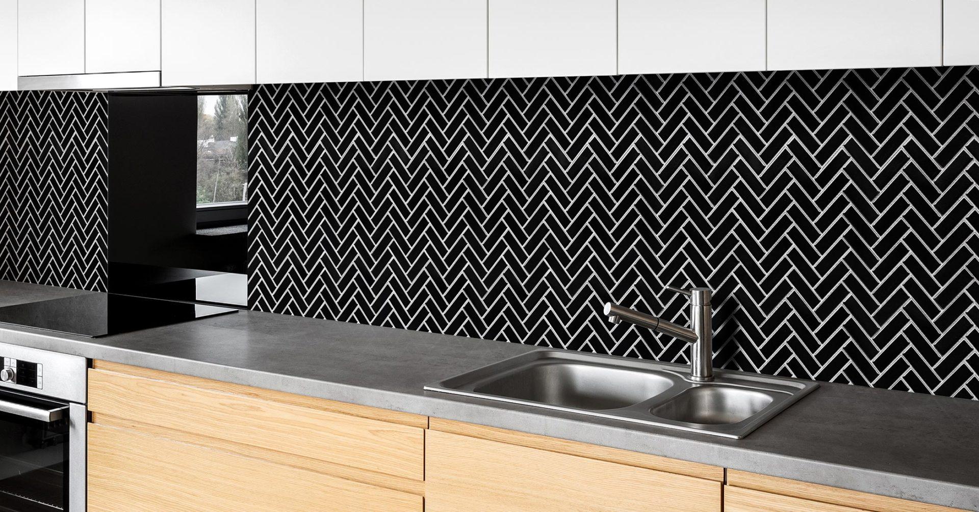 herringbone mosaic range surfaces by
