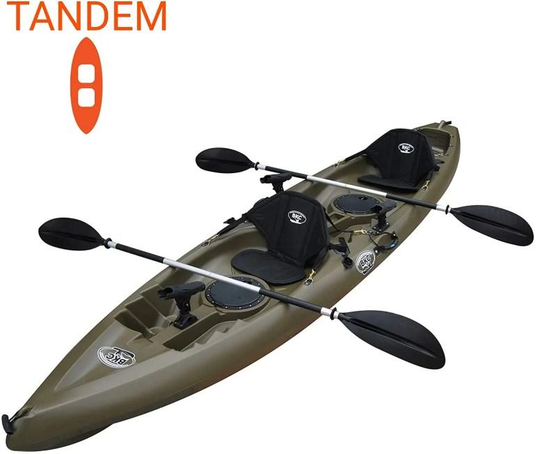 2 person tandem fishing kayaks top 7