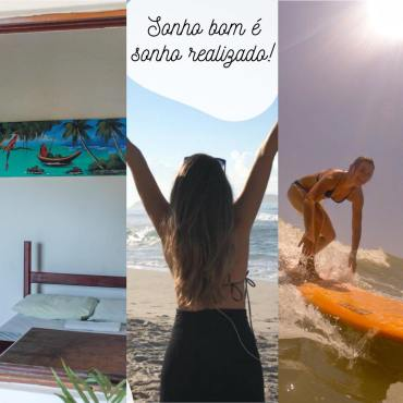 Hostel and surf school Vacation in Brazil SUP