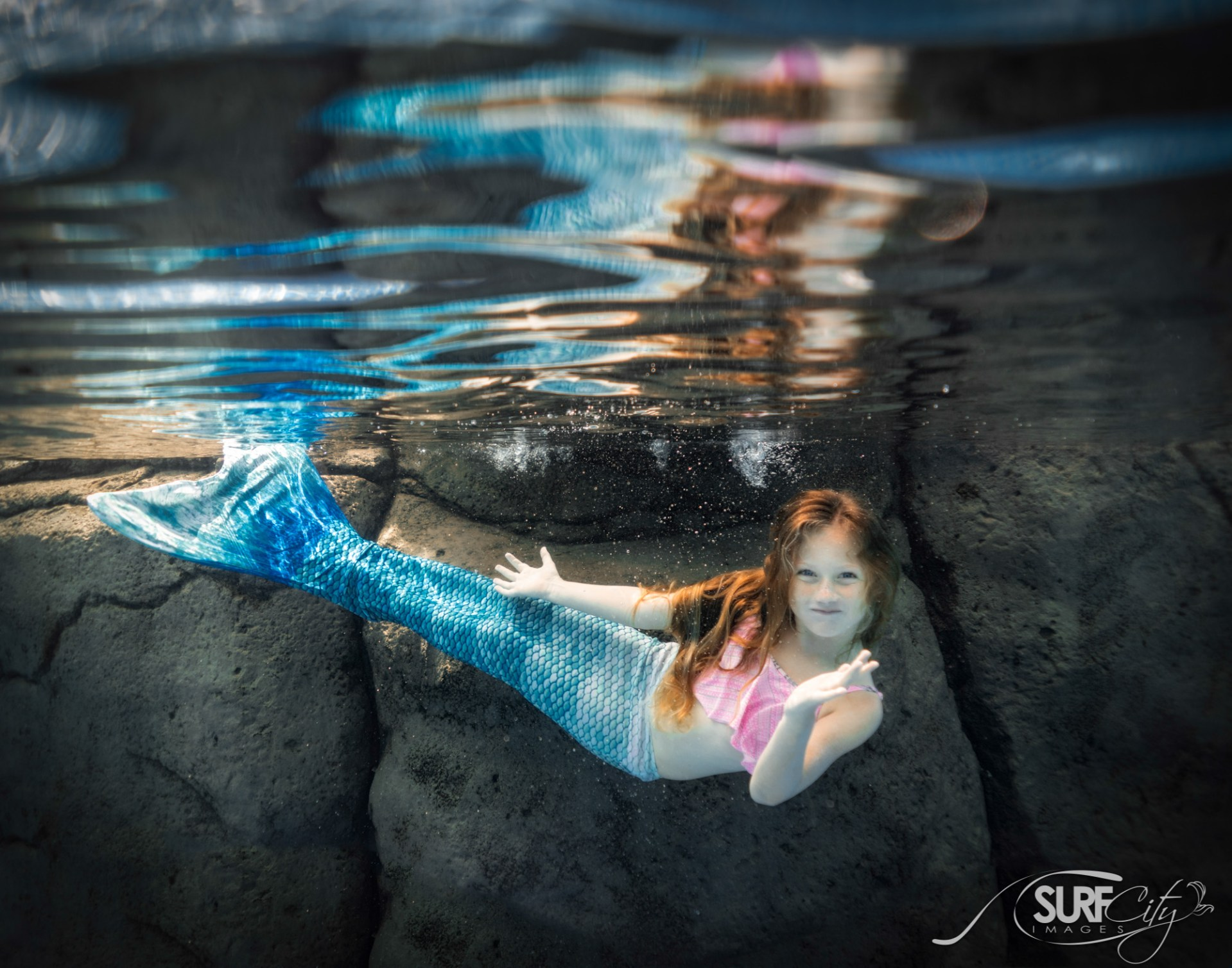 Kona Hawaii Underwater Mermaid Portraits