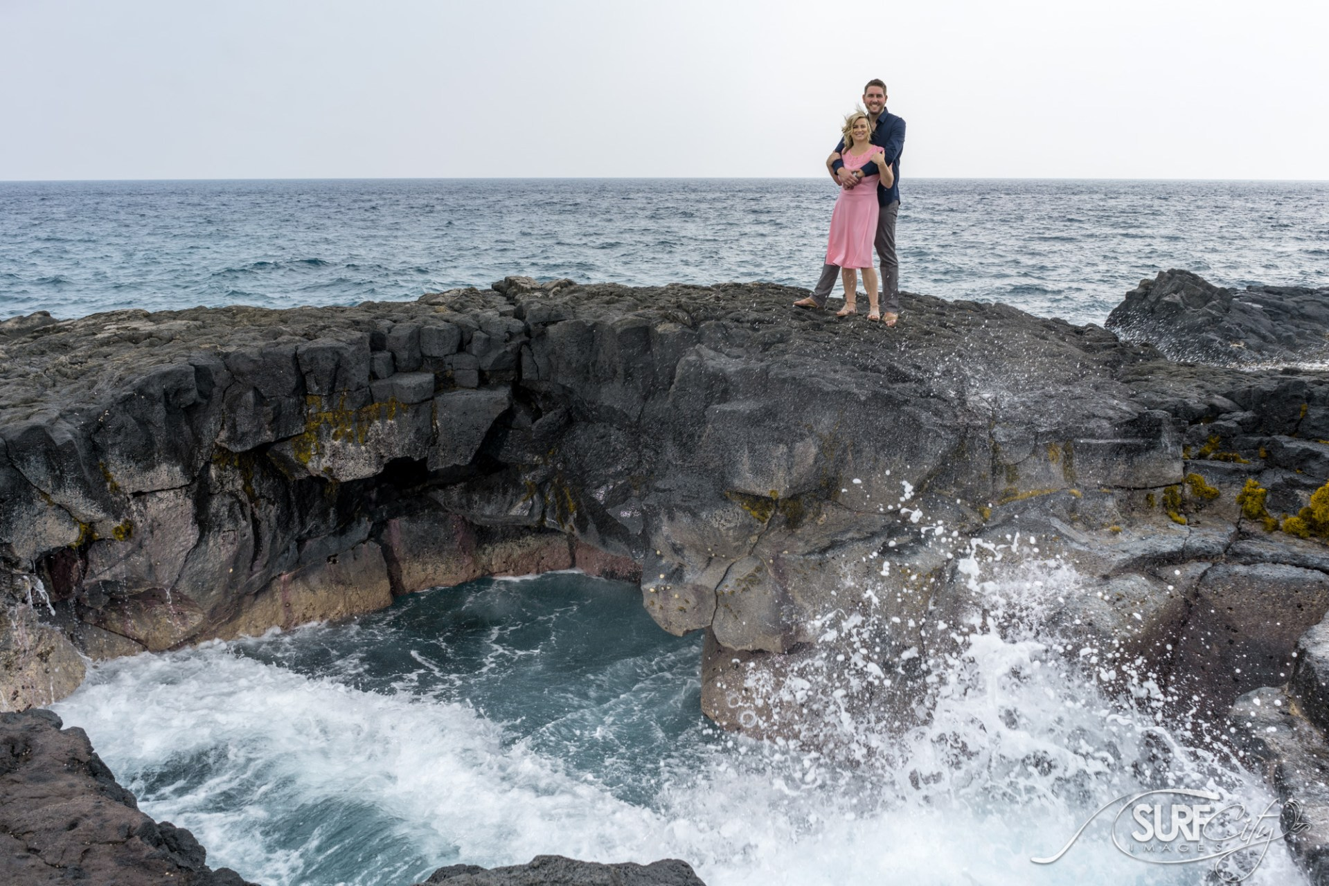 Engagement Portraits in Kona