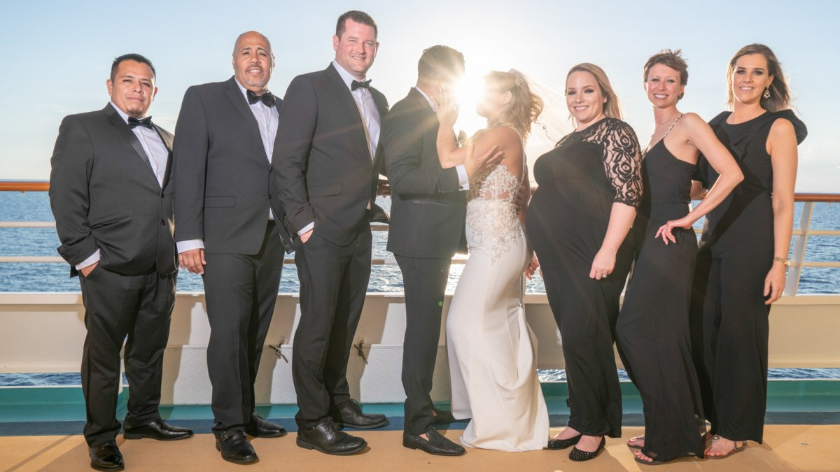 Cruise Ship Wedding Photographer