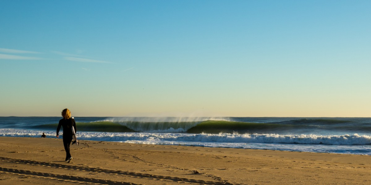 Cylindrical Perfection Comes to Delmarva - SURFER Magazine