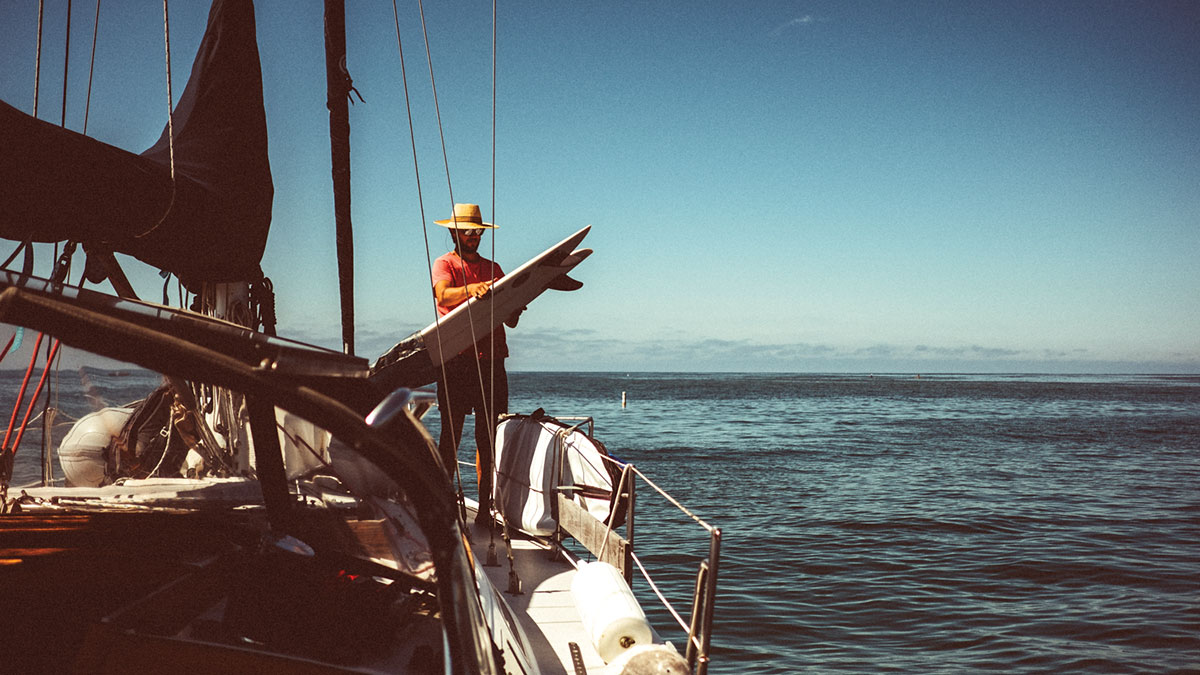 How to be a seafarer, with Trevor Gordon