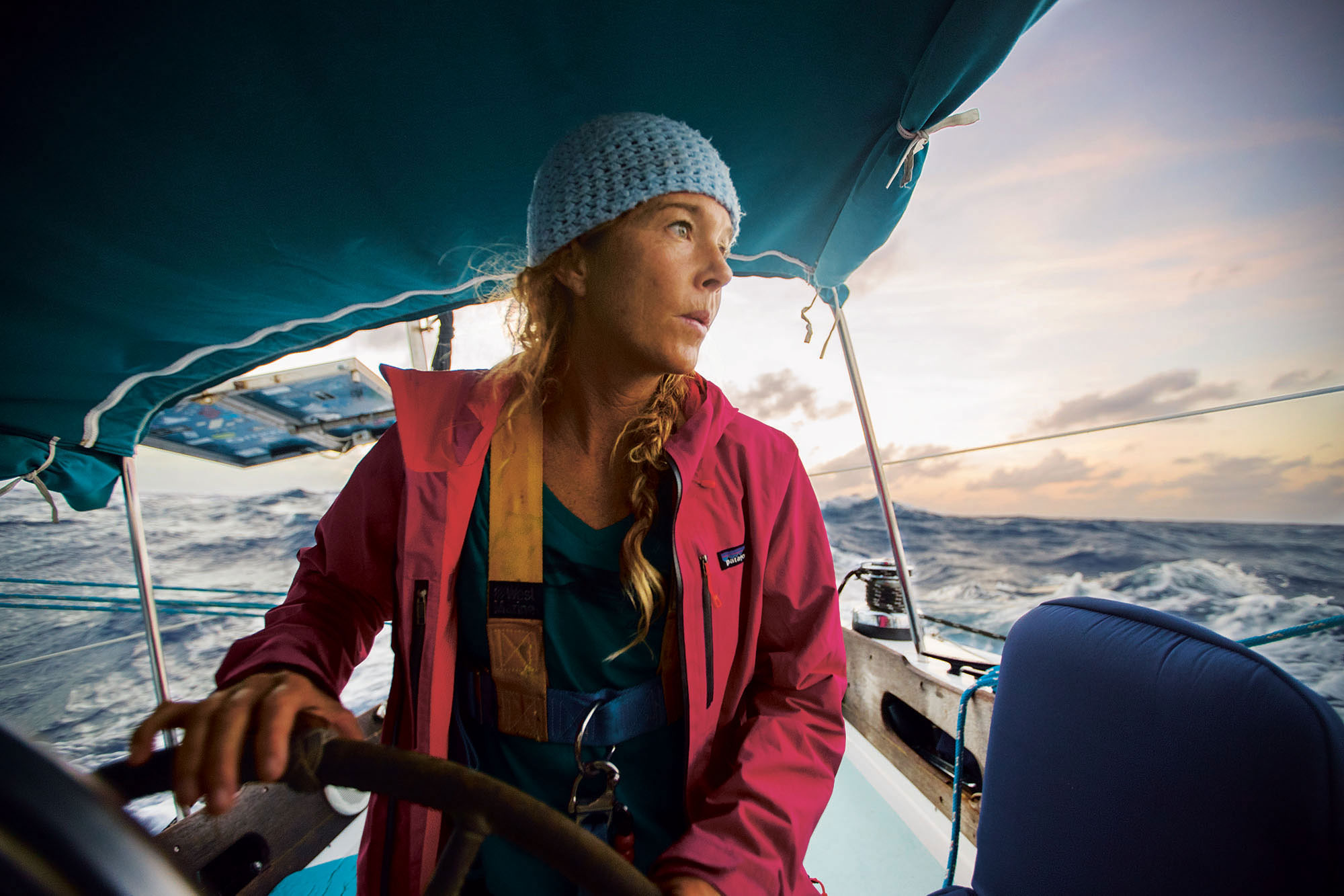 Surfer Liz Clark, on how to live on a sailboat for 12 years