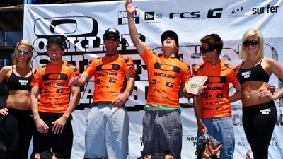 SurfRide: L-R, Che Stang, Aaron Coyle, Chris Abad, Brent Reilly