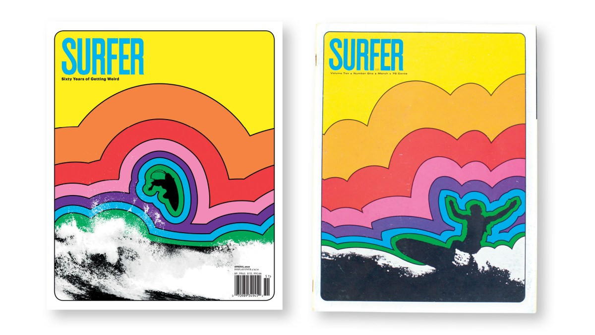 We're Re-Envisioning Classic Covers for SURFER's 60-Year Anniversary Volume