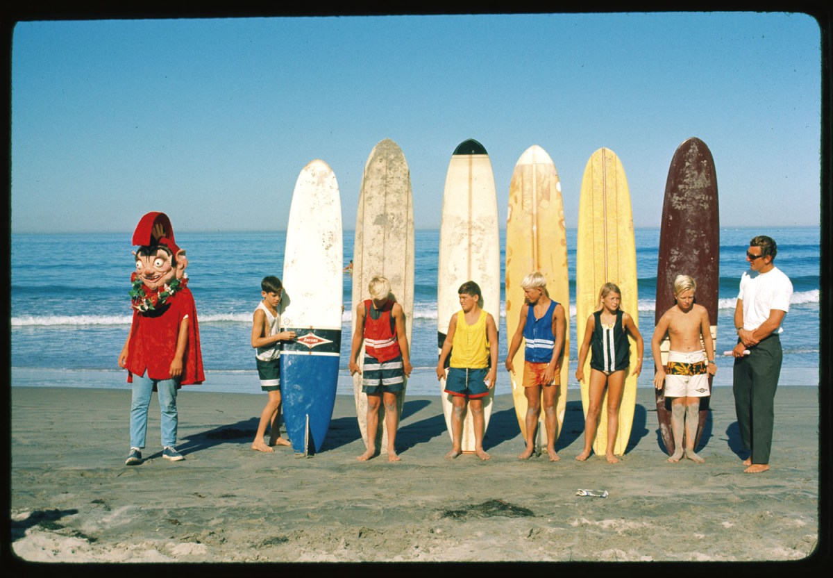 Stoner VisionRevisiting the idyllic '60s surf scene through the vibrant imagery of Ron Stoner