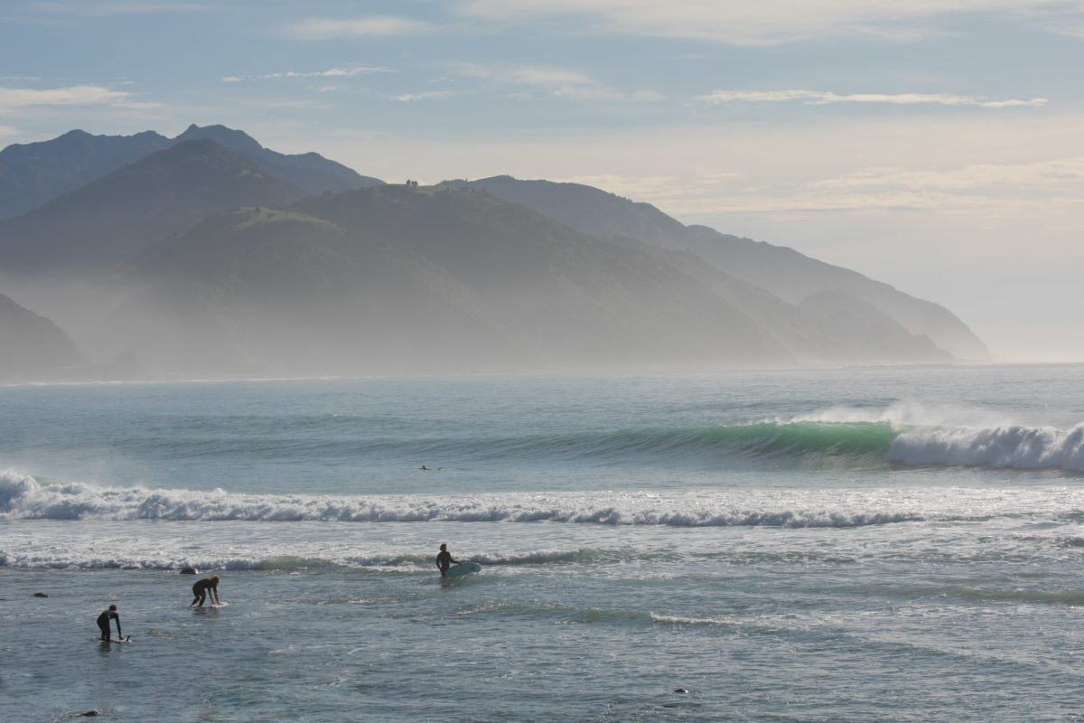 """""""These are the three gentlemen behind the scenes of running The Single Fin Mingle about to enjoy a beautiful morning,"""" says BenBen. Cameron Haylock, Ambrose McNeill and Bradley King"""