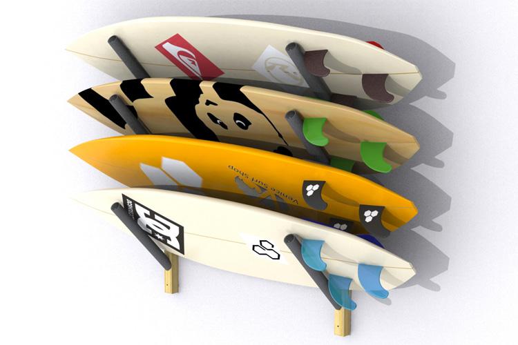 the best surfboard wall racks