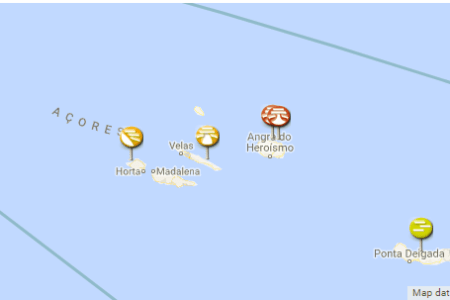 map of canaries and azores map of usa » Path Decorations Pictures ...