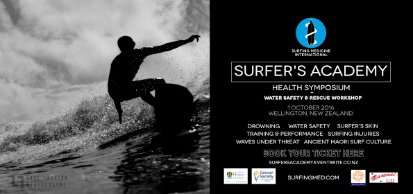 Next Surfer's Academy: 1 October, Wellington, New Zealand