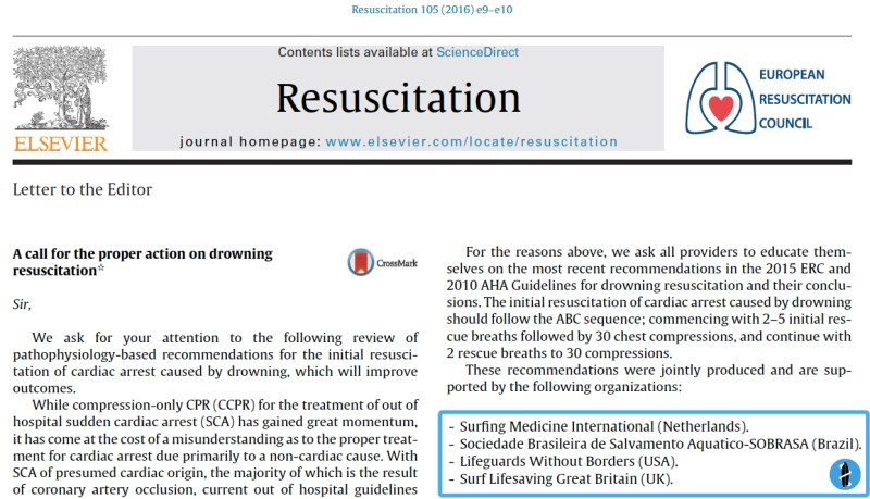Resuscitation letter to the editor o