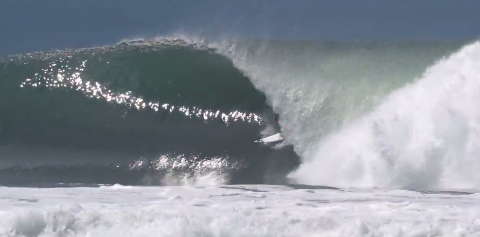 Cory Lopez heads south for some warm toasty barrels